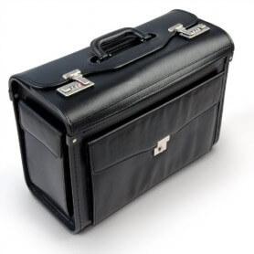 Localizador GPS oculto en maletín de mano
