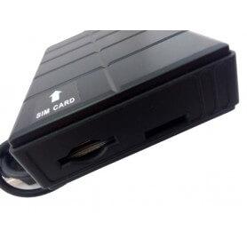Localizador GPS Personal Power Bank 3000 mAh con linterna