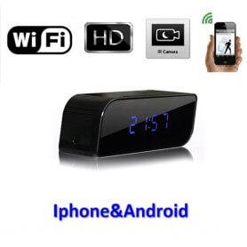 Reloj de mesita Wifi Con Vision Nocturna