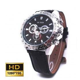 Reloj espia HD 720p H264 con deteccion de movimiento