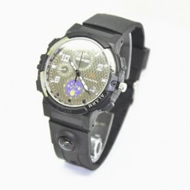 Reloj espia HD 720p H264 con IR y LED linterna