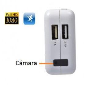 Adaptador espia Full HD 1080p con deteccion de movimiento