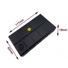 Localizador GPS Personal Power Bank 5000 mAh con linterna