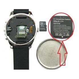 Batería intercambiable de 500mAh para reloj espía