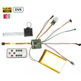 Modulo Grabación Full HD con PIR h264 60 FPS 128Gb
