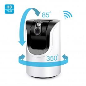 Cámara Visión Noctura 355º WIFI HD con control de audio