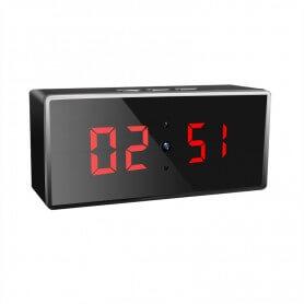 SEM009 Reloj espía para escritorio 1080p HD con IR 140º y deteccion de movimiento