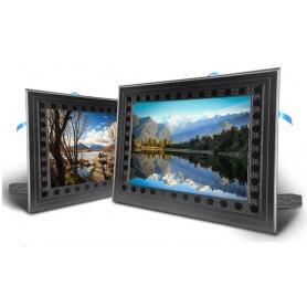 Camara espia en marco de fotos 720p HD con sensor PIR vision nocturna IR 128 Gb