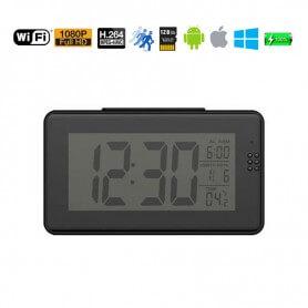 Reloj despertador WIFI visión nocturna con termómetro