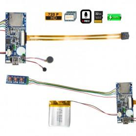 Mini Camara Espia DVR Modular HD 720p