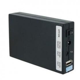 Batería recargable 15000mAh de 5V, 9V y 12V